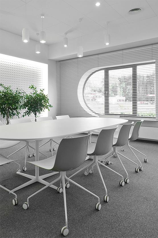 Projektowanie biur Es System K przez Grid Studio Projektowe