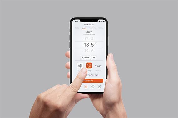 Eran aplikacji mobilnej Smart Shop Control dla Es System K projektowanie aplikacji Biuro Projektowe Grid
