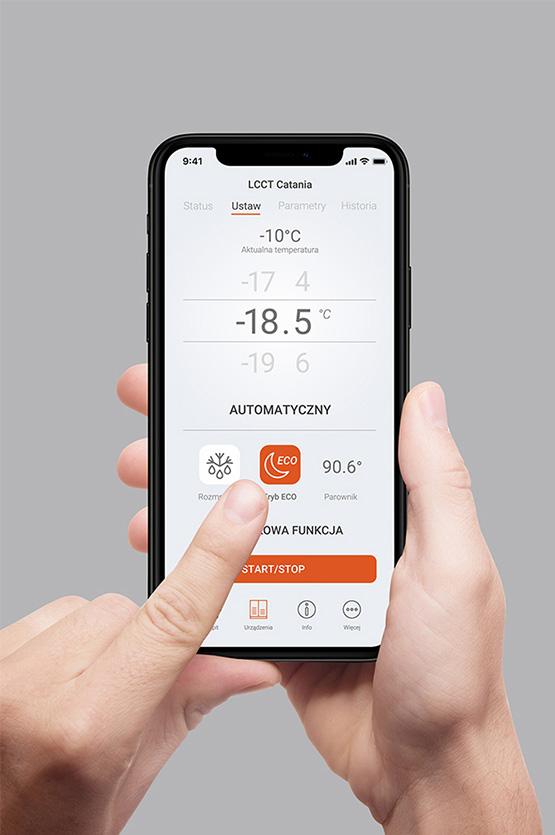 Eran aplikacji mobilnej Smart Shop Control dla Es System K projektowanie aplikacji Grid Studio Projektowe