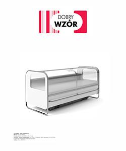 Biuro projektowe Grid konkurs Dobry wzór Lada chłodnicza Catania Es System K