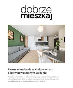 Biuro projektowe Grid projekt mieszkania art deco Dobrze mieszkaj