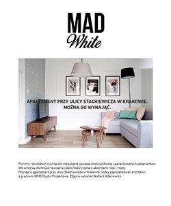 Biuro projektowe Grid projekt apartamentu na wynajem na Stachiewicza Mad White