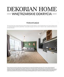 Biuro projektowe Grid projekt mieszkania Dekorian home