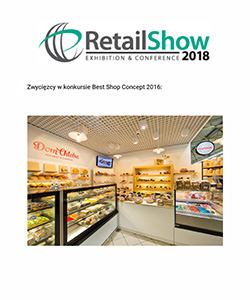 Biuro projektowe Grid Projekt piekarni Dom chleba Retail show