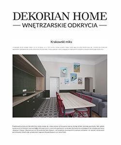 Biuro projektowe Grid projekt wnętrza apartamentu Dekorian home