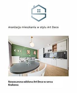 Biuro projektowe grid projekt wnętrza apartamentu w stylu art deco