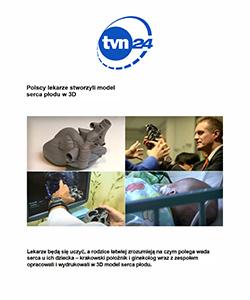 Biuro projektowe Grid artykuł w TVN 24 MWU 3D Models